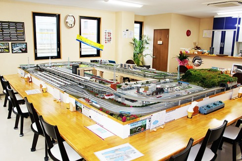Gifu Japan Model Railway Themed Cafe