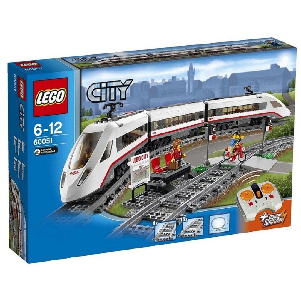 60051 High-Speed Passenger Train LEGO City