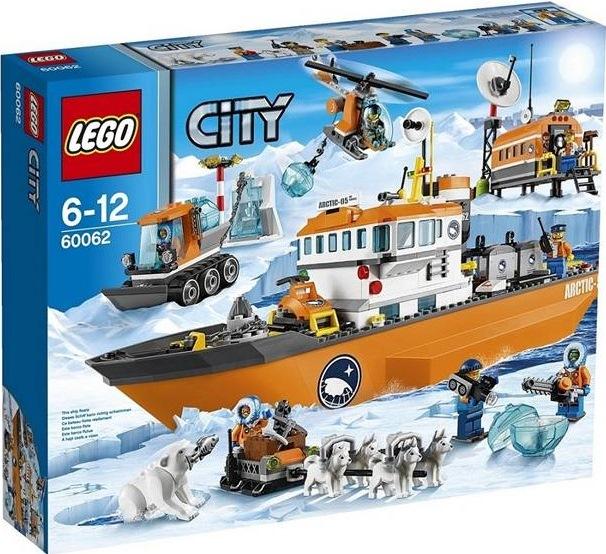 60062 LEGO City Arctic Ice Breaker