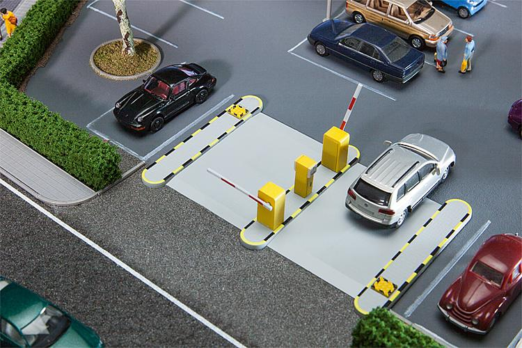 Faller HO Scale Automated Parking Barriers