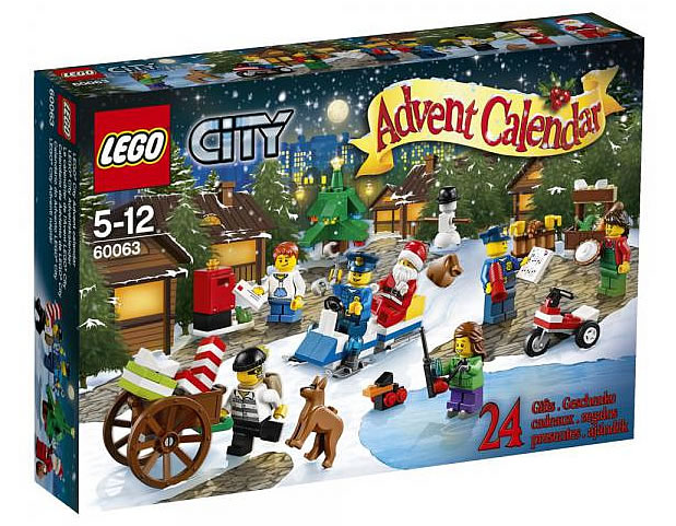 LEGO City Advent Calendar 60063 Box