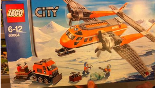 LEGO City Arctic Supply Plane 60064