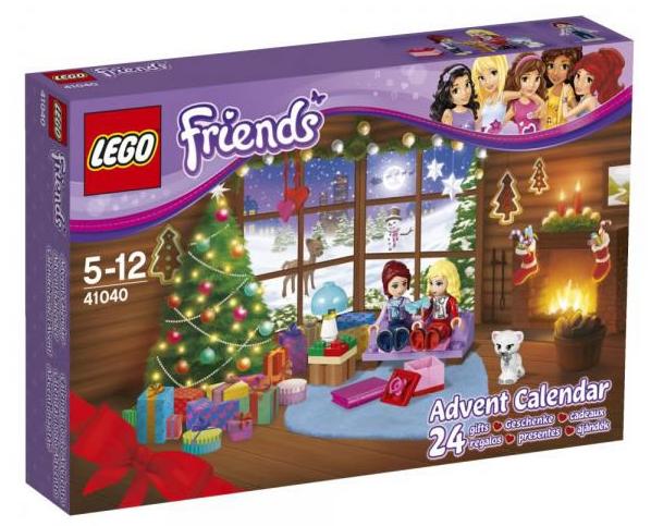 LEGO Friends Advent Calendar 41040 Box