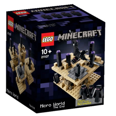 LEGO Minecraft The End 21107