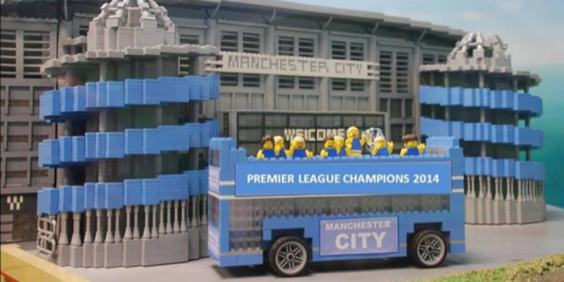 Manchester City in LEGO