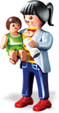 Mother with Baby - Playmobil