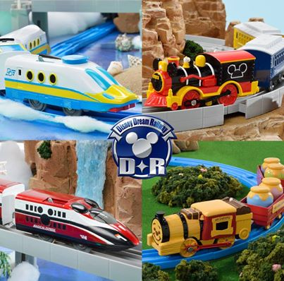 Takara Tomy Plarail Disney Dream Railway