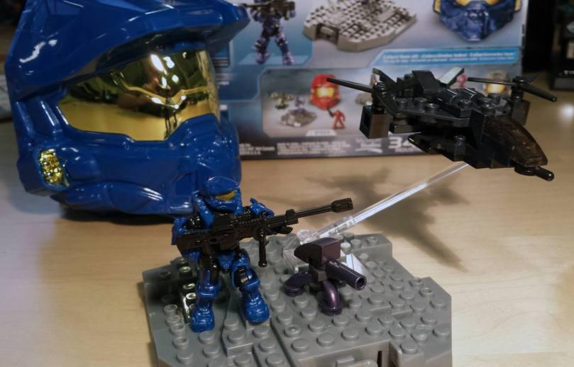Halo Mega Bloks Micro Fleet Falcon