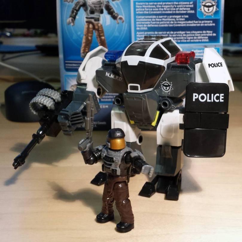 Halo Mega Bloks The NMPD Cyclops.