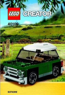 LEGO Creator Mini Cooper MK VII 40109