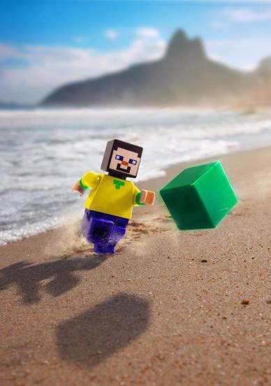 LEGO Minecraft Soccer World Cup