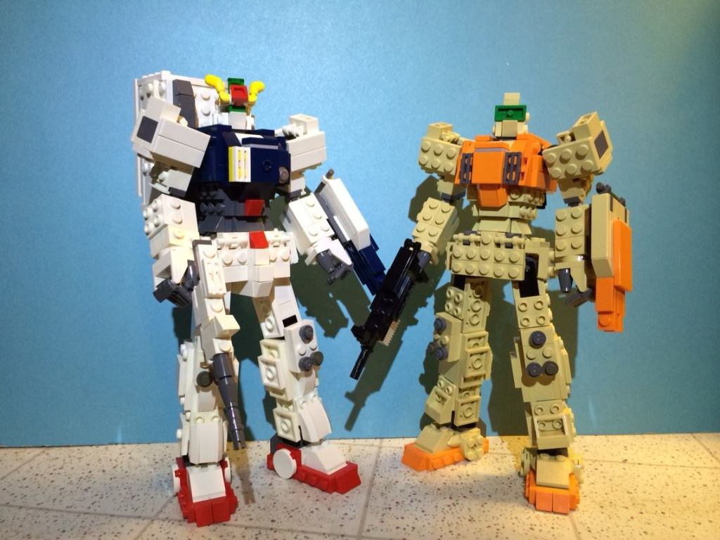 LEGO Mobile Suit Gundam 08th MS Team