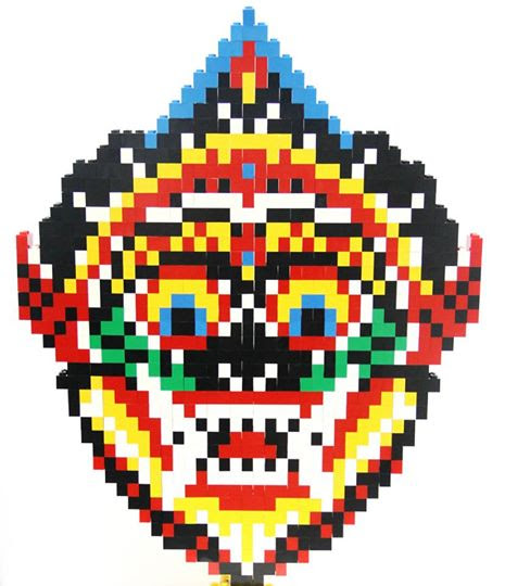 LEGO Topeng Barong Bali