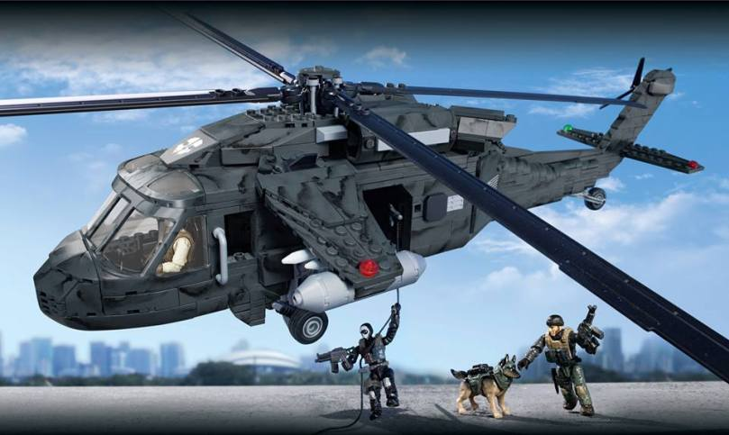 Mega Bloks Call of Duty Ghost Helicopter