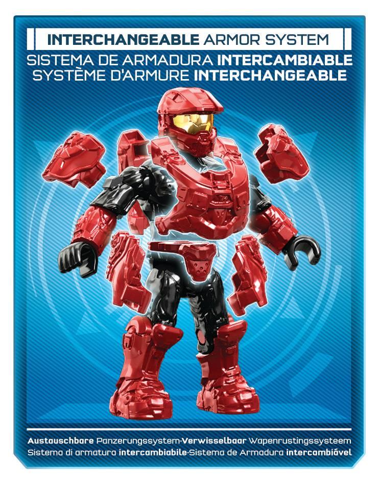 Mega Bloks Halo Interchangeable Armor System