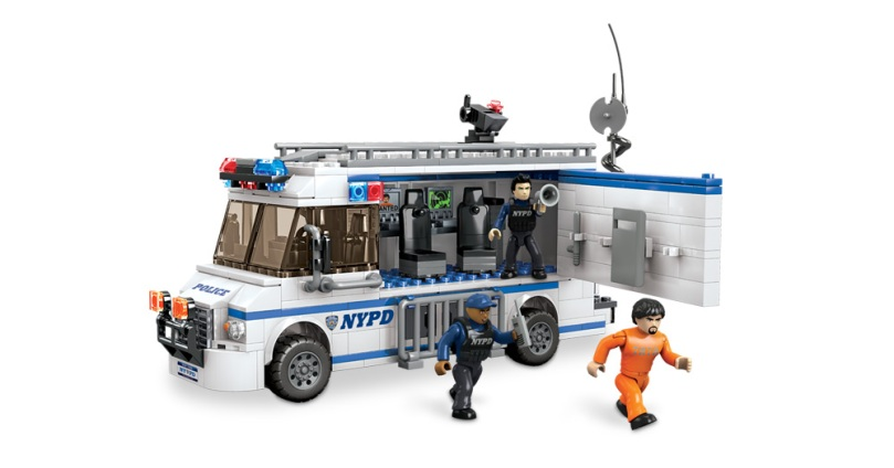Mega Bloks NYPD Mobile Command Center
