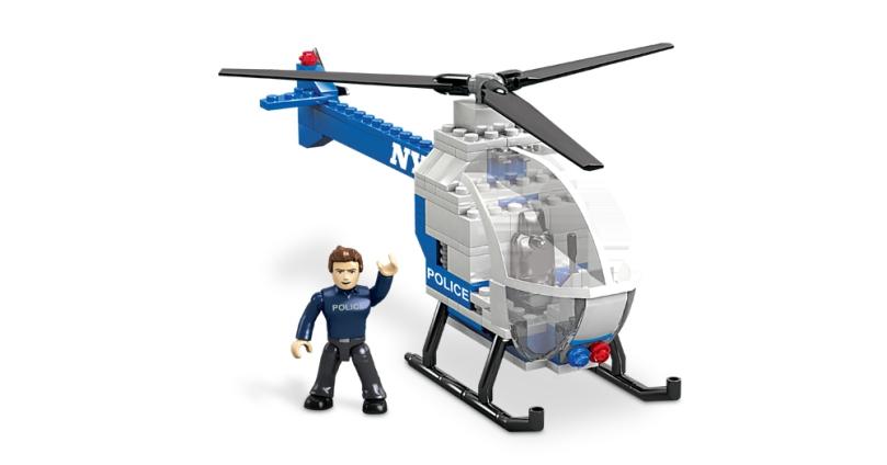 Mega Bloks NYPD Police Chopper