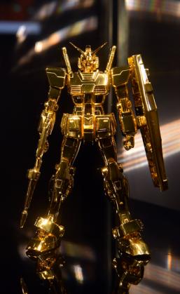 Pure Gold Gundam